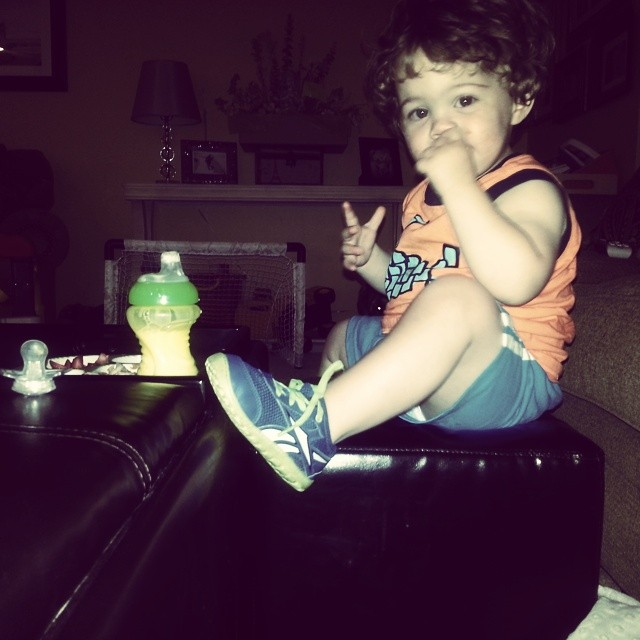 ricky, 20 months old, 21 months old, hand foot and m