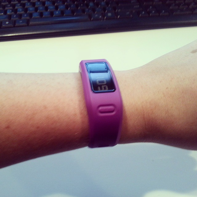workout, vivofit, heart rate monitor, factor v leiden, mom work out, mommy work out